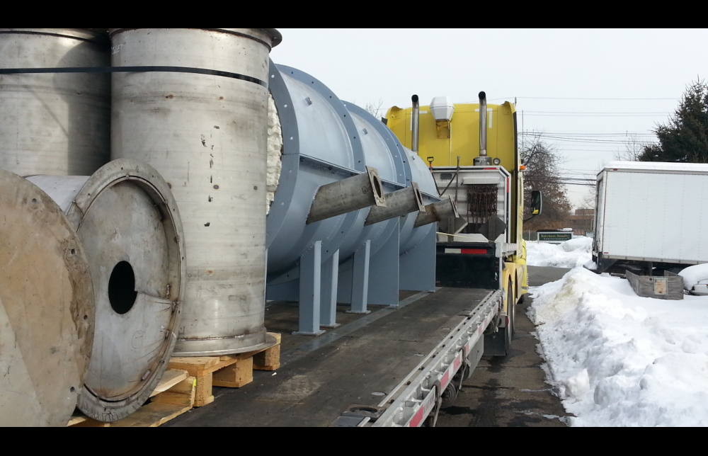 Shipping Modular-Design HiTemp Indirect Fired Rotary Process Furnace System