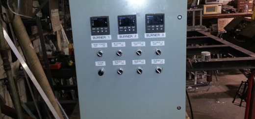 HiTemp Indirect Fired Rotary Process Furnace System Control Panel
