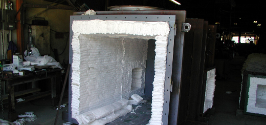 Dual Hearth Process Furnace Installation
