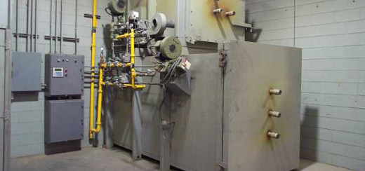 Single Hearth Process Furnace Installation