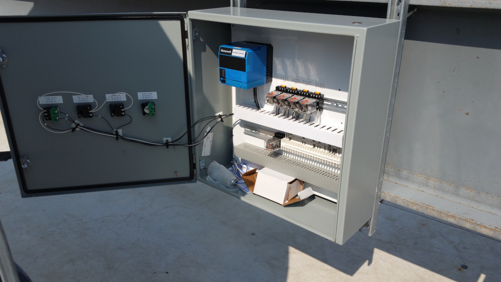 HiTemp Recuperative Catalytic Oxidizer control panel wiring