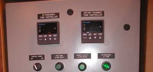 Typical Rotary Kiln Electrical Control Panel