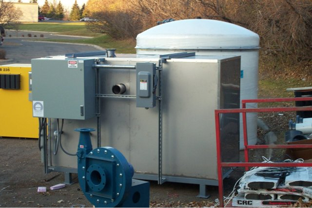 HiTemp soil vapor extraction system installation
