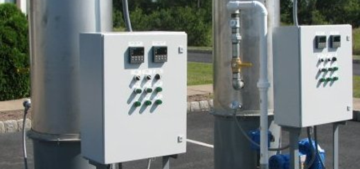 300 SCFM SVE Electric Systems with Optional Blower and Flame Arrester