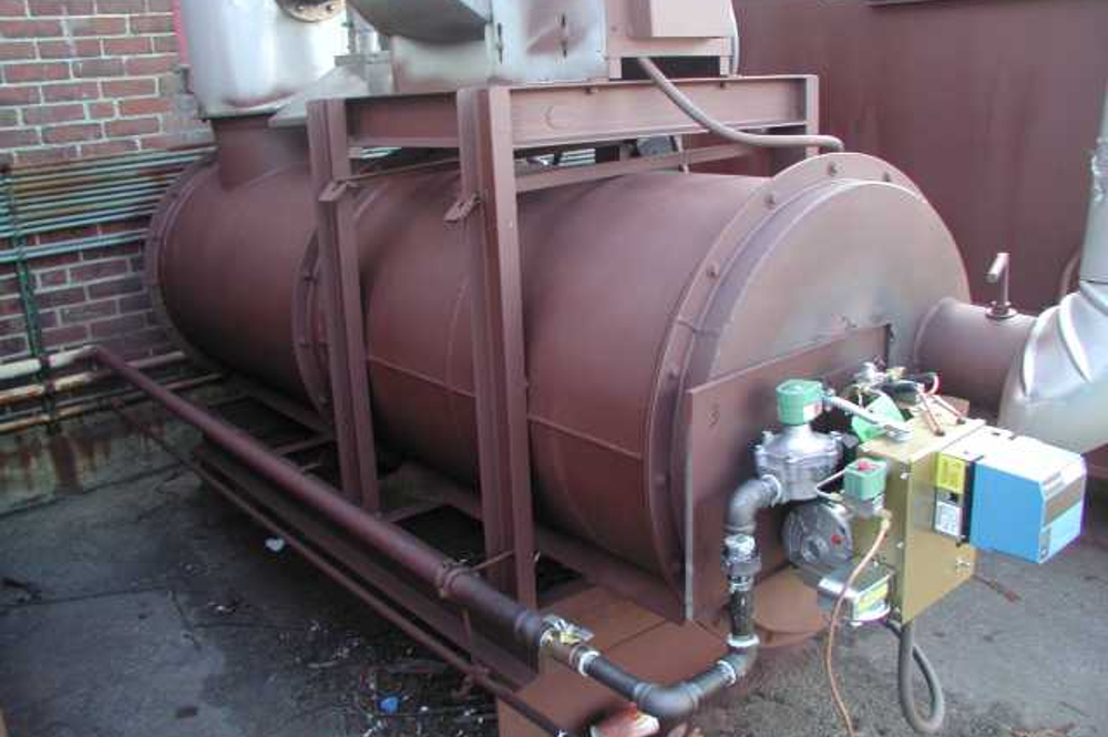 thermal oxidizer module installation