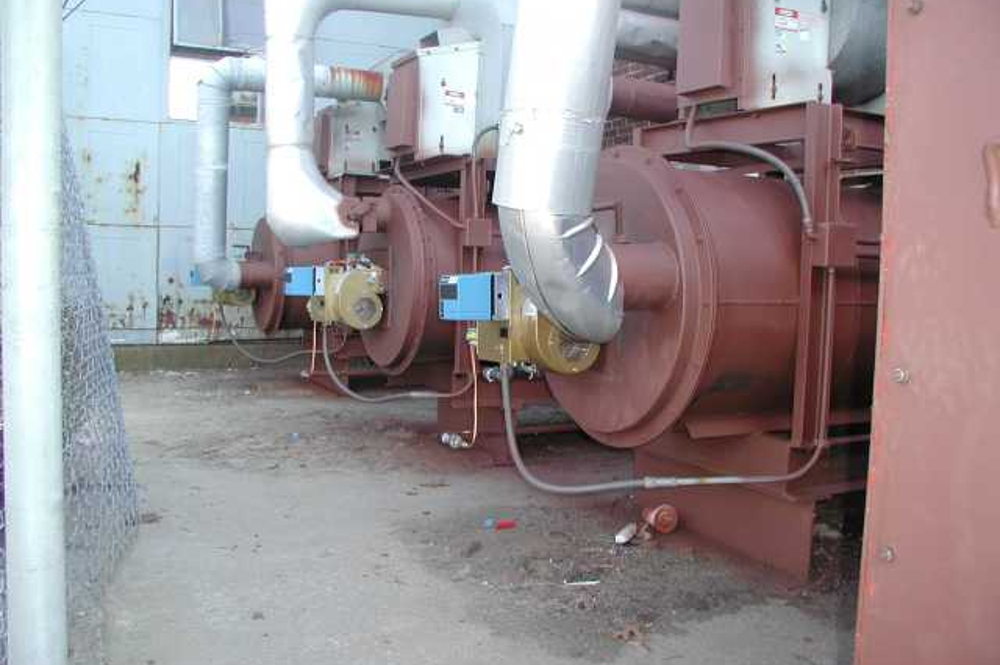 multiple thermal oxidizer module installation